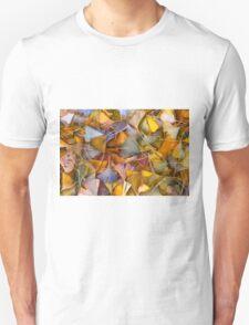 Fall Ginkgo Leaves Unisex T-Shirt