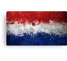 Netherlands Flag Canvas Print