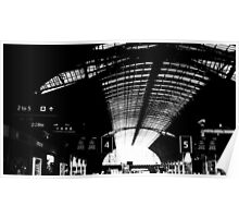 London train station arches  Poster