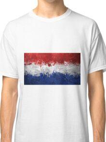 Netherlands Flag Classic T-Shirt