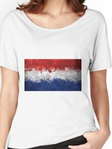 Netherlands Flag Women's Relaxed Fit T-Shirt