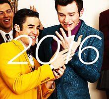 Klaine 2016 Calendar by zarayow