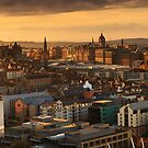 Edinburgh Panorama by Steve Jensen