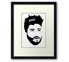 KYLE // SuperDuperKYLE Framed Print
