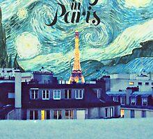 Midnight In Paris Poster by Starforest