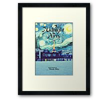 Midnight In Paris Poster Framed Print