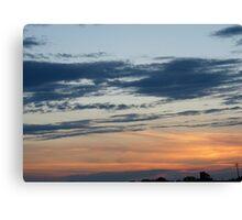 Egan Sundown Canvas Print