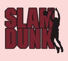 Basketball Slam Dunk Kids Tee