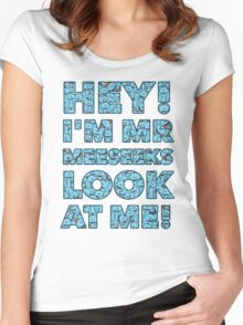 Meeseeks Quote Women's Fitted Scoop T-Shirt