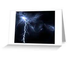 Thunder Greeting Card