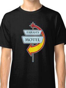 Farah's Motel campy truck stop tee  Classic T-Shirt