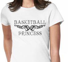 Basketball Princess Womens Fitted T-Shirt