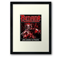 PREDATOR - Pleasure to Hunt Framed Print