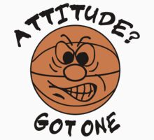 Basketball Attitude Kids Clothes