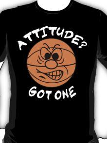 Basketball Attitude Dark T-Shirt
