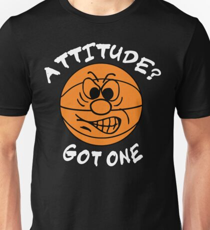 Basketball Attitude Dark Unisex T-Shirt