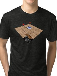 Minesweeper Flags Land Version Tri-blend T-Shirt