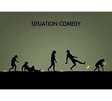 99 Steps of Progress - Situation comedy Photographic Print