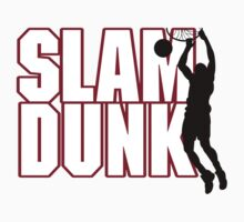 Basketball Slam Dunk Baby Tee