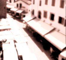 Spanish street scene by Phillip Shannon