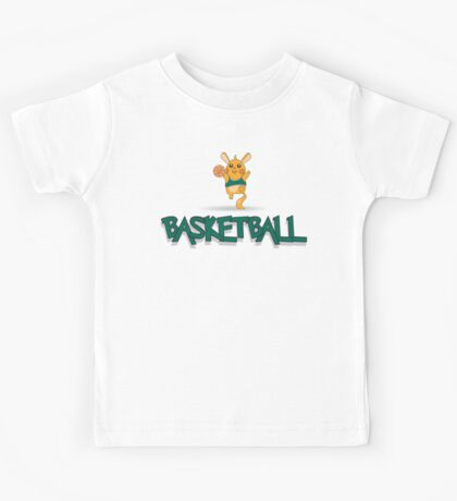 Cute Basketball Kids Tee