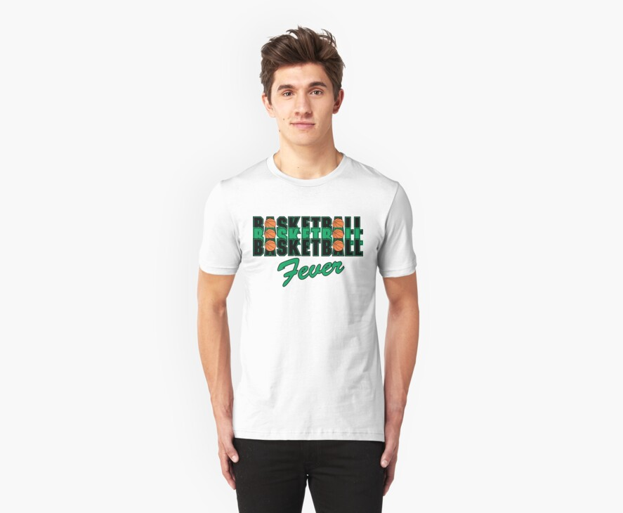 Basketball Fever by SportsT-Shirts