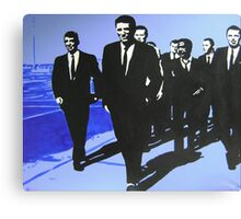 The Rat Pack - Blue Canvas Print