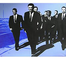 The Rat Pack - Blue Photographic Print