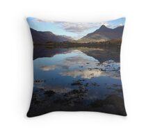Reflections of Glen Coe Throw Pillow