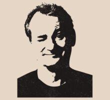 Bill Murray (grunge version) by Thomas Jarry