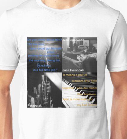 Alec Lightwood and Jace Herondale - Parabatai Unisex T-Shirt
