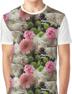 Floral Art Graphic T-Shirt