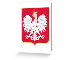Coat of Arms of Government of Republic of Poland In Exile, 1956-1990 Greeting Card