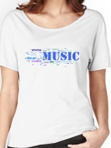 NUSIC AND EVERYTHING Women's Relaxed Fit T-Shirt