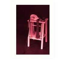Red Room Of Pain Art Print