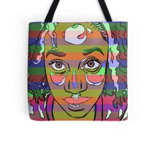 Africana Electronica Tote Bag