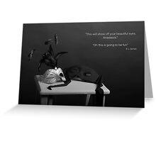 50 Shades of Grey - Masked Ball Greeting Card