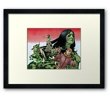 Ophelia's Revenge (without text) Framed Print