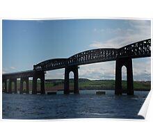 River Tay Rail Bridge Poster