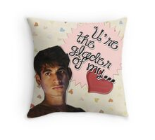The Maze Runner Greeting Cards [Winston] Throw Pillow