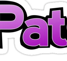 It's Patsy Sticker