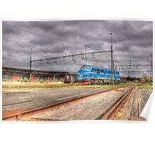 Locomotives of Värnamo VII Poster