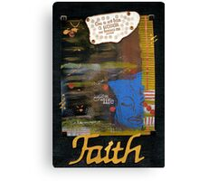 FAITH Banner Canvas Print