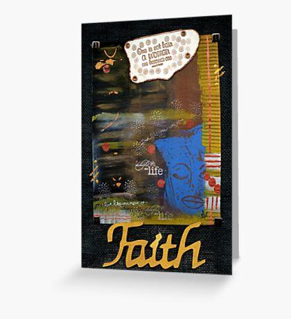 FAITH Banner Greeting Card