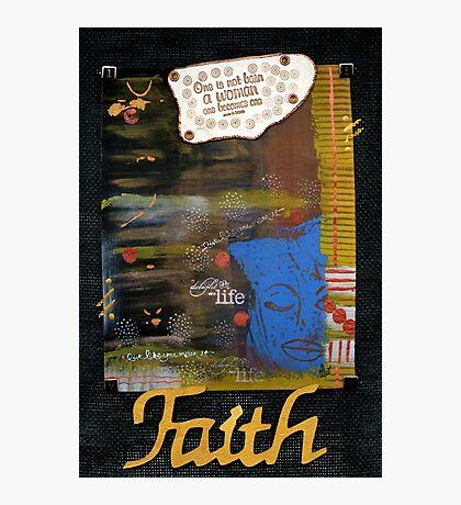 FAITH Banner Photographic Print