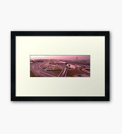Welcome to Dubai Framed Print