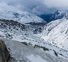 Skagway Valley From Summit by Yukondick