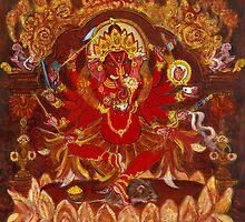 Dancing Ganesha by Laura Cameron