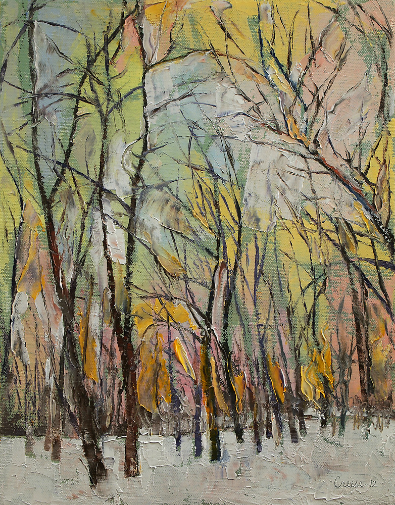 Winter Trees by Michael Creese