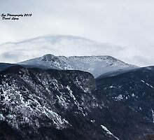 Looking towards Mt. Lafayette from Cannon Mountain - Franconia, NH 01-11-15 by David Lipsy